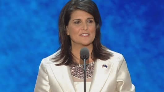 Nikki Haley to be Trump's ambassador to UN